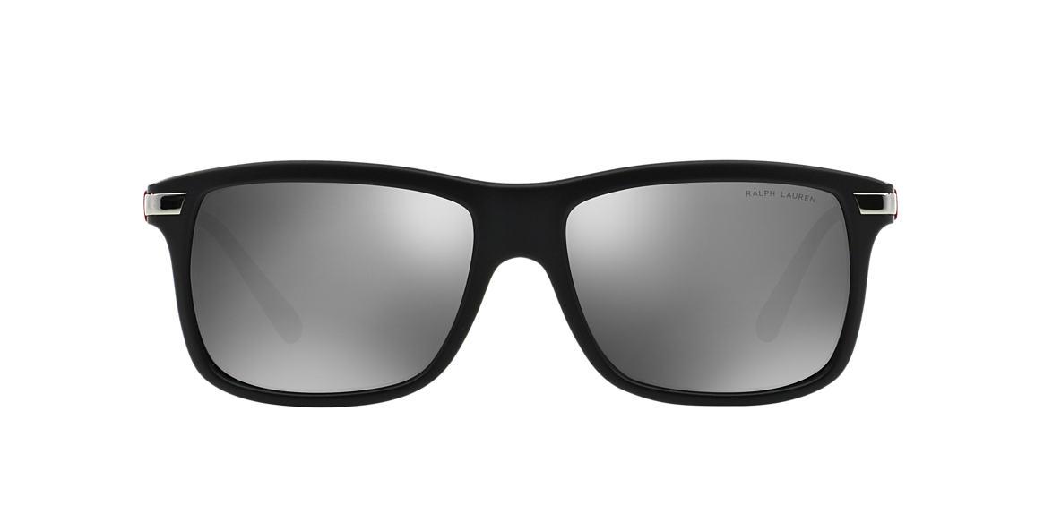 POLO RALPH LAUREN Black PH4084 Grey lenses 56mm