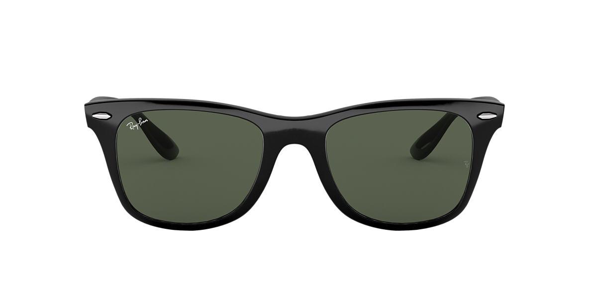 RAY-BAN Black RB4195F Green lenses 52mm