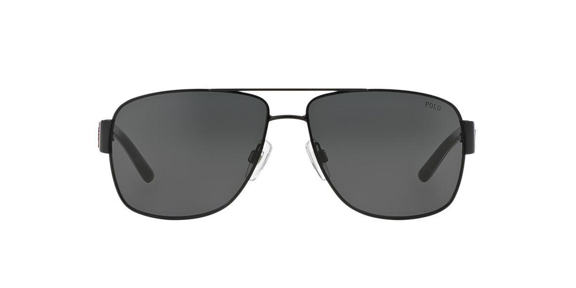 POLO RALPH LAUREN Black PH3085 Grey lenses 59mm