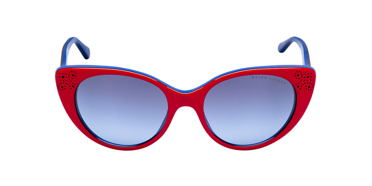 RALPH LAUREN Red RL8110 Blue lenses 55mm