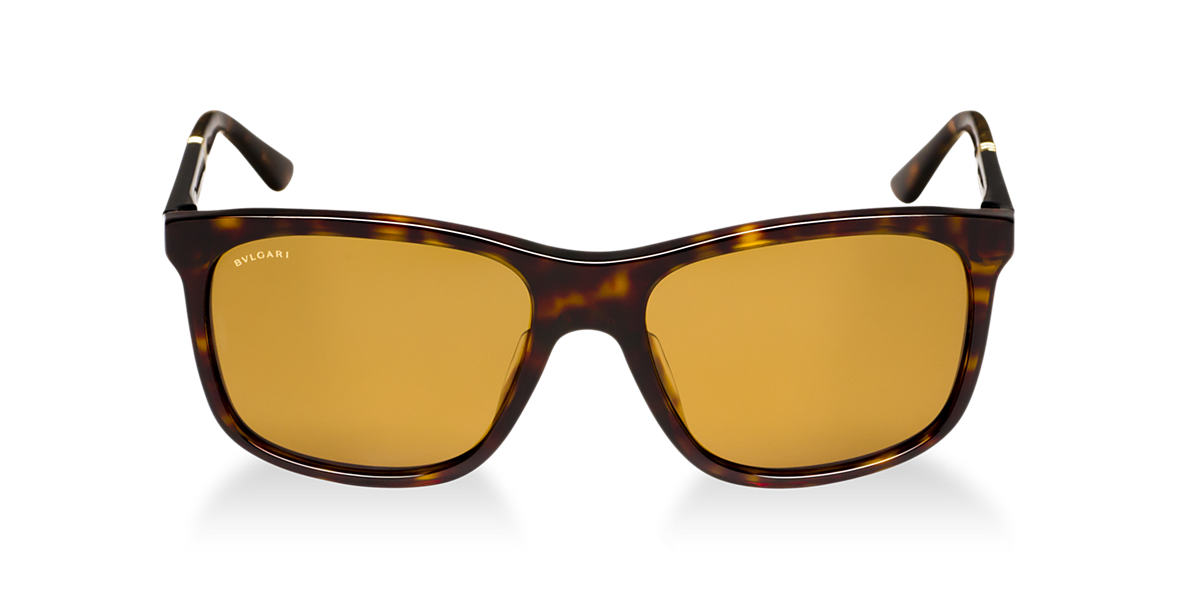 BVLGARI SUN Brown BV7016 Brown polarized lenses 57mm