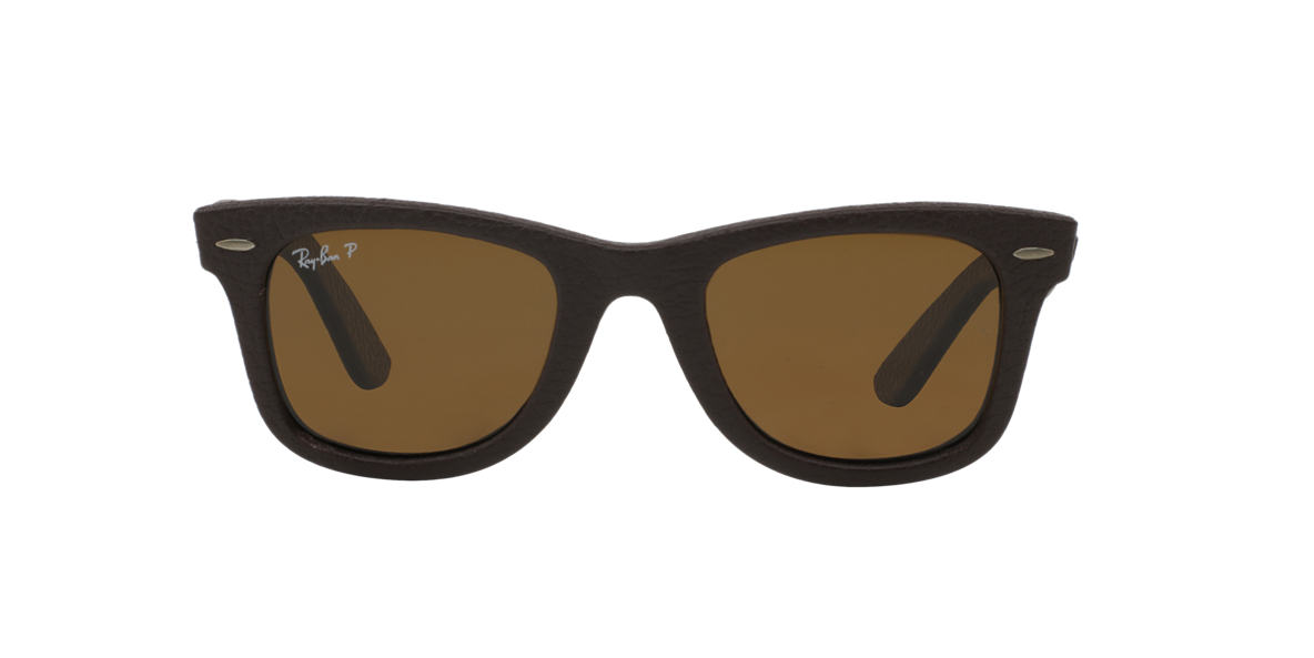 RAY-BAN Brown RB2140QM Brown polarised lenses 50mm