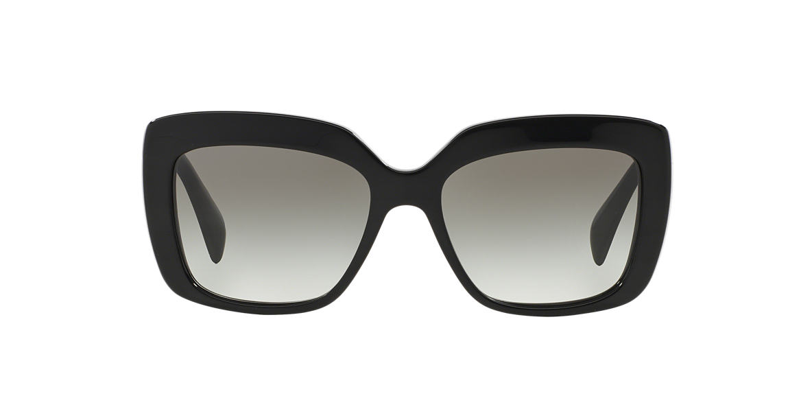 PRADA Black PR 03QSA 55 Grey lenses 55mm