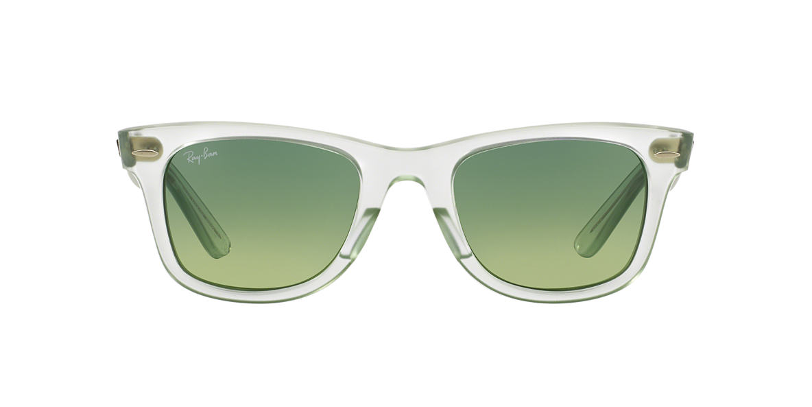 RAY-BAN Green RB2140 50 ORIGINAL WAYFARER Green lenses 50mm