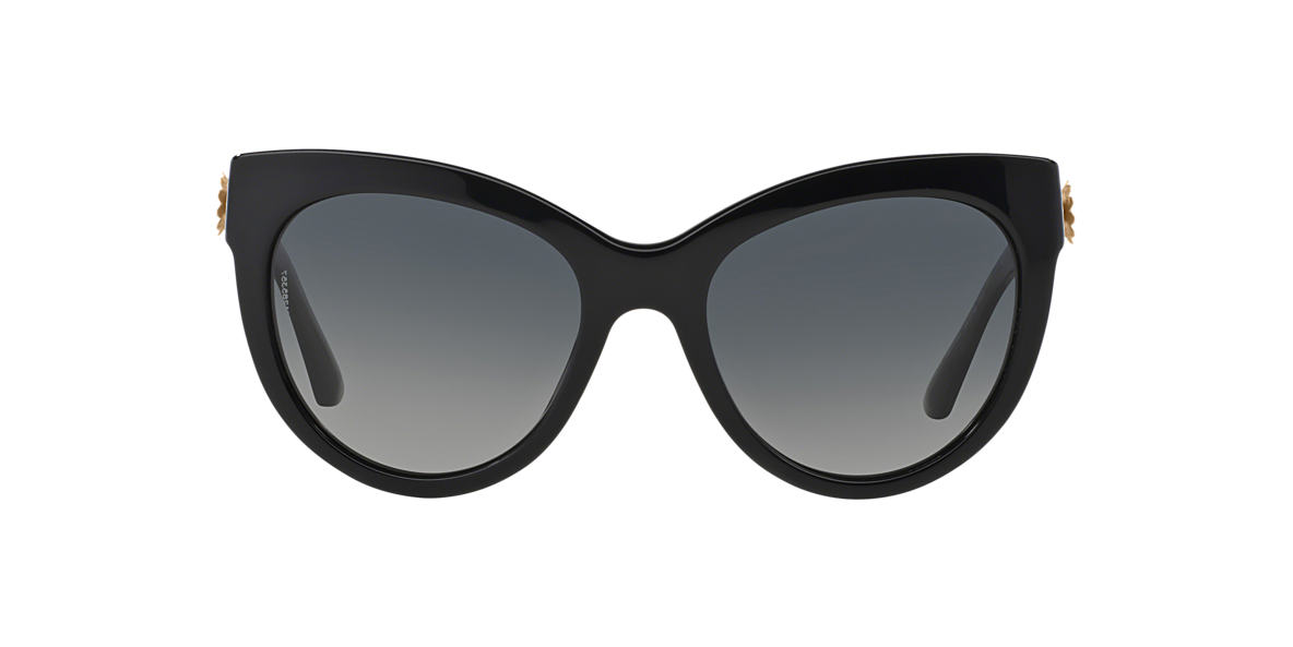 DOLCE and GABBANA Black DG4211 Grey polarized lenses 54mm
