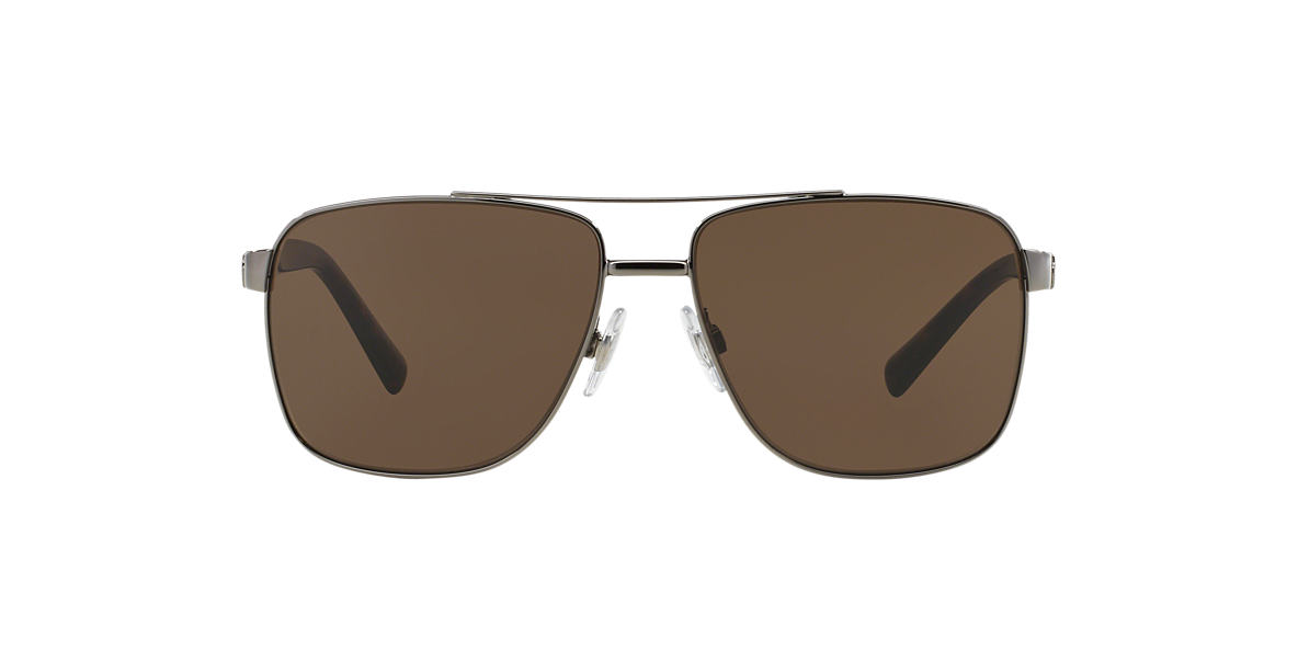 DOLCE and GABBANA Gunmetal DG2131 (60) Brown lenses 60mm