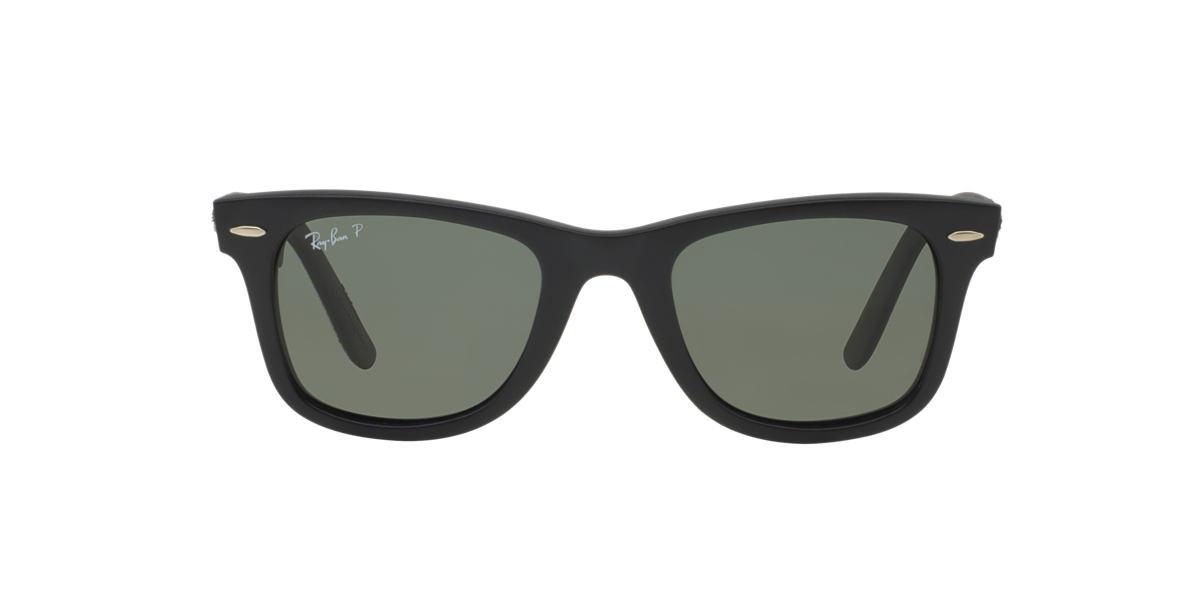 RAY-BAN Black RB2140 Green polarised lenses 50mm