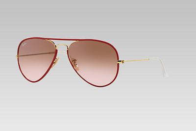RB3025JM 58 AVIATOR FULL COLOR $184.95