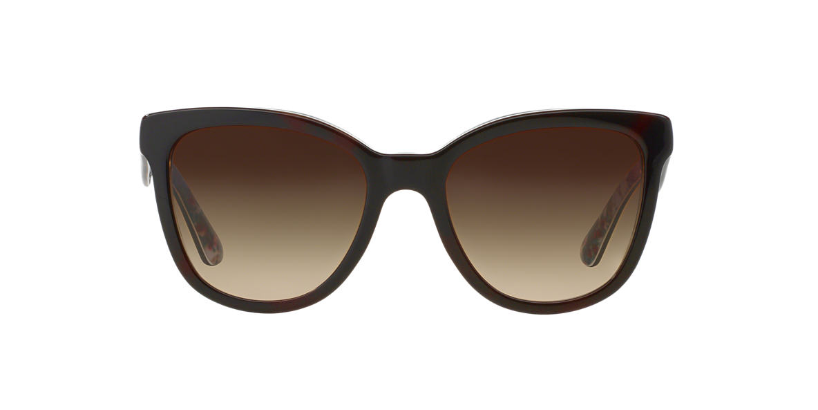 DOLCE and GABBANA White DG4190 Brown lenses 54mm