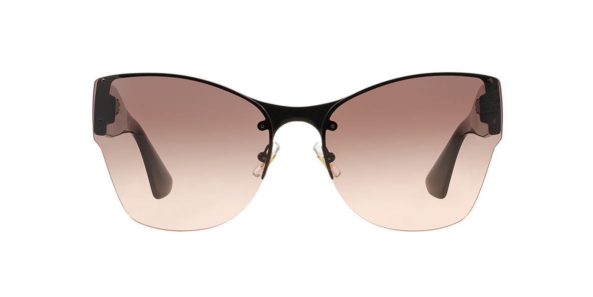 MIU MIU Black MU 52PS Pink lenses 64mm