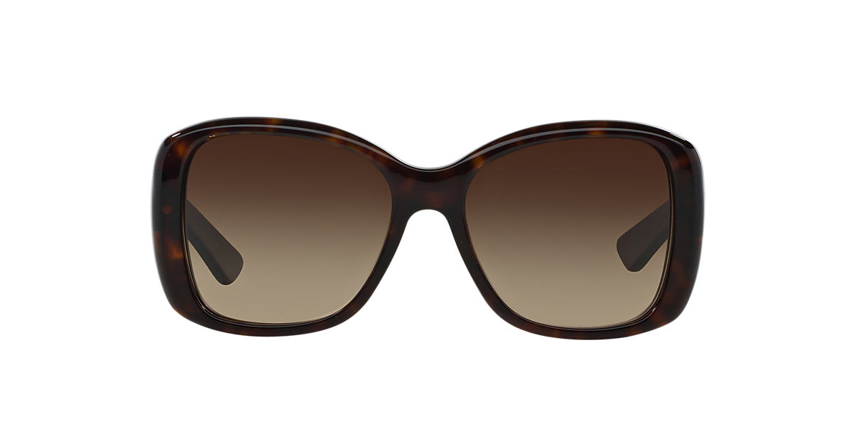 PRADA Tortoise PR 32PS Brown lenses 57mm