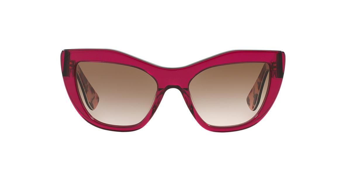 MIU MIU Pink/Purple MU 02PS Brown lenses 53mm