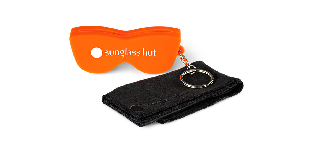 SILICON CASE - ORANGE  lenses mm