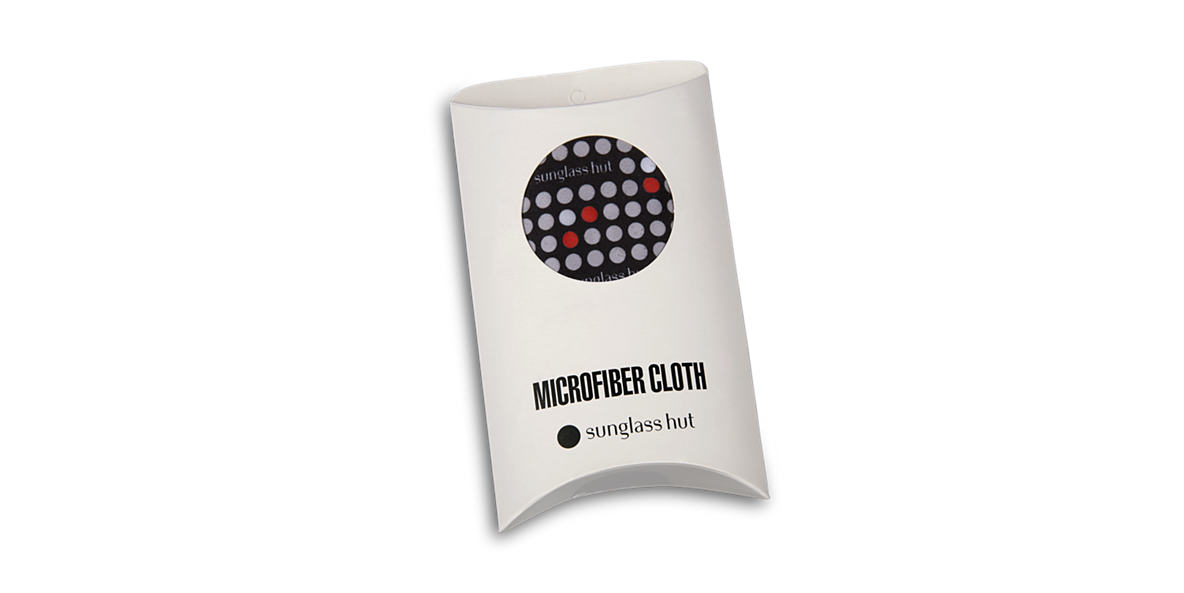 LARGE CLEANING CLOTH (32 X 38CM) - RED  lenses mm