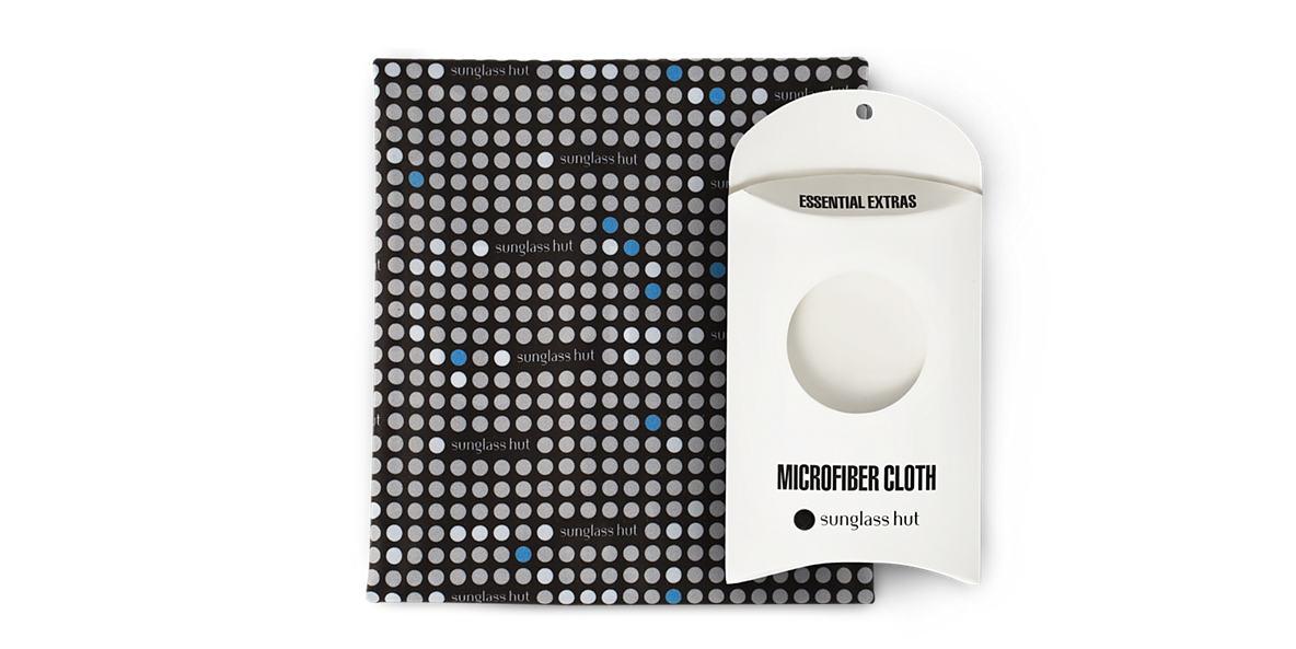 SUNGLASS HUT LARGE CLEANING CLOTH (32 X 38CM) - BLUE  lenses mm