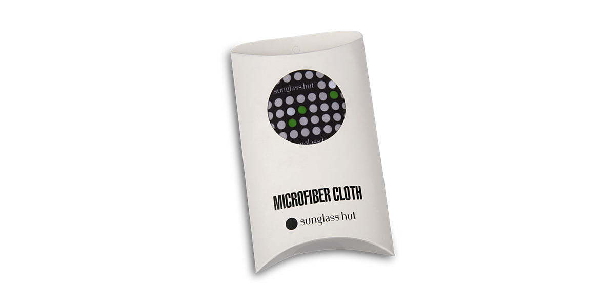 LARGE CLEANING CLOTH (32 X 38CM) - GREEN  lenses mm