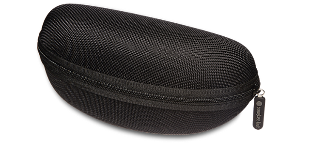 SUNGLASS HUT LARGE CASE - BLACK £10.00