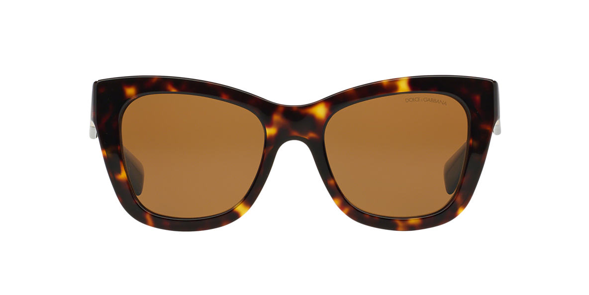 DOLCE and GABBANA Brown DG4214 52 Brown polarized lenses 52mm
