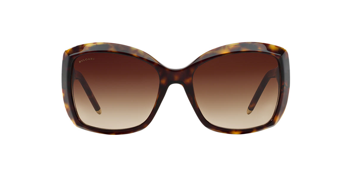 BVLGARI Tortoise BV8133 Brown lenses 56mm