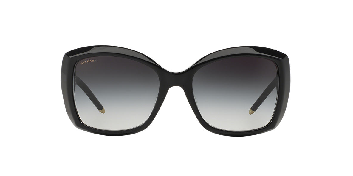 BVLGARI SUN Black BV8133F 56 Grey lenses 56mm