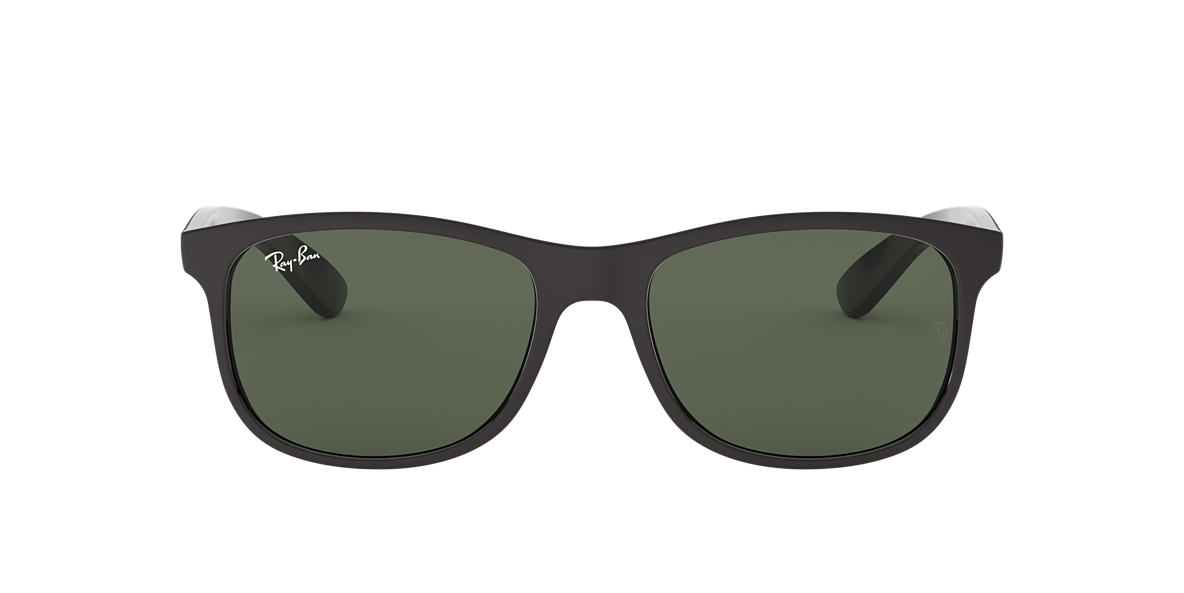 RAY-BAN Black RB4202 Grey lenses 55mm