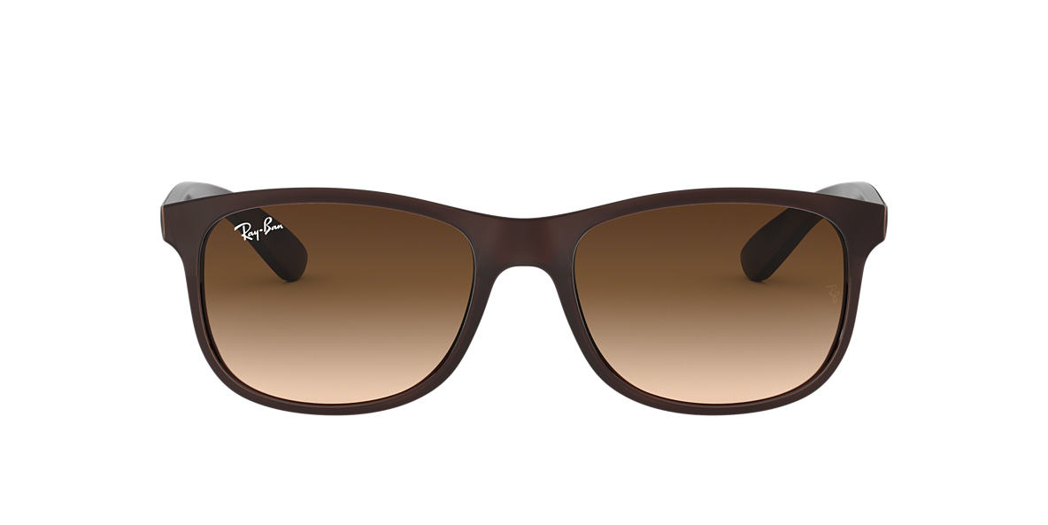 RAY-BAN Brown RB4202 Brown lenses 55mm