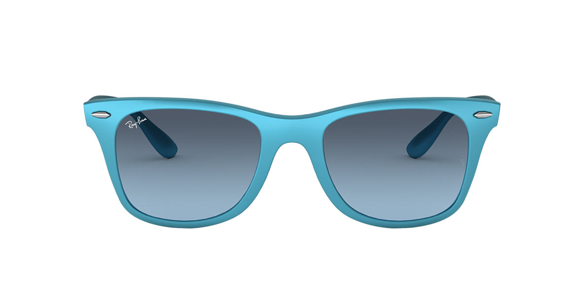 RAY-BAN Blue RB4195 52 WAYFARER LITEFORCE Blue lenses 52mm
