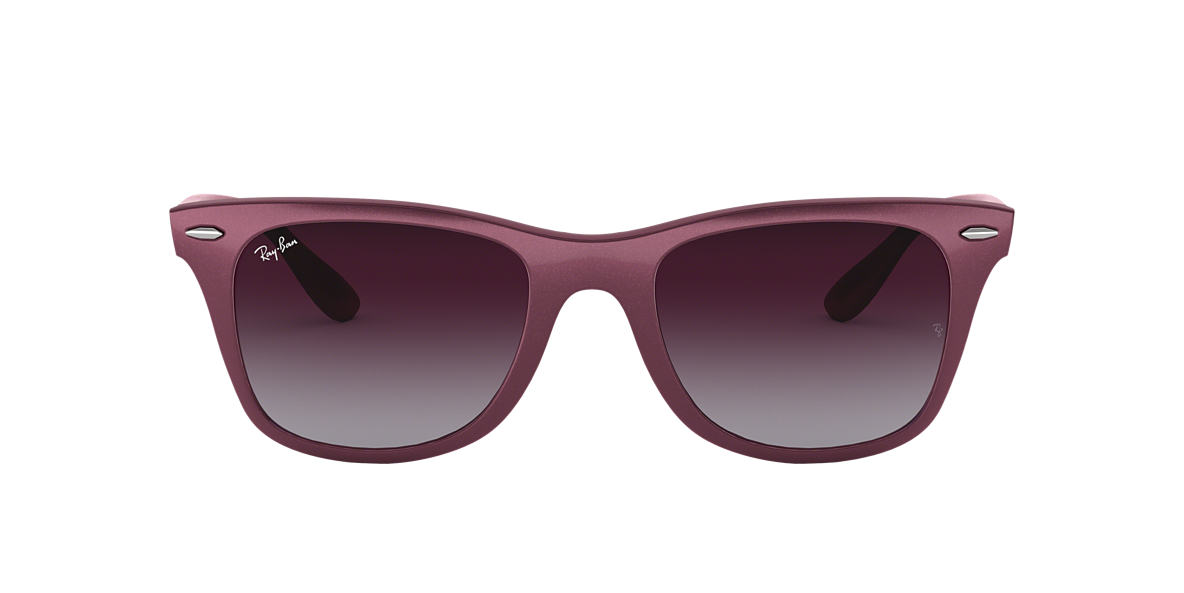 RAY-BAN Purple RB4195 52 WAYFARER LITEFORCE Purple lenses 52mm