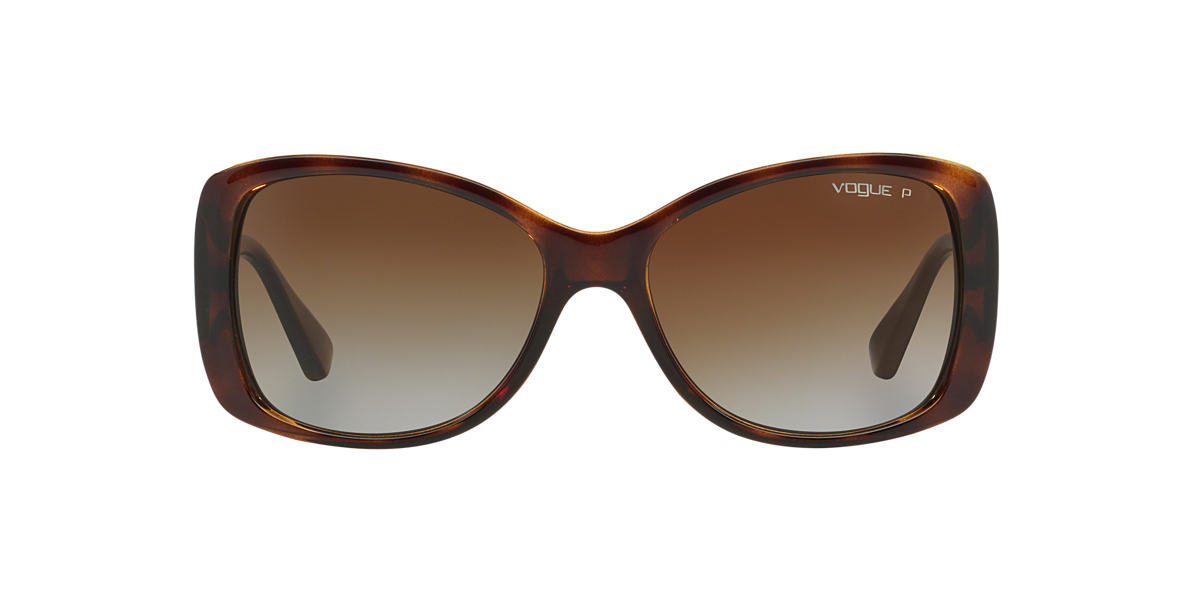 VOGUE LINE Brown VO2843S Brown polarised lenses 56mm