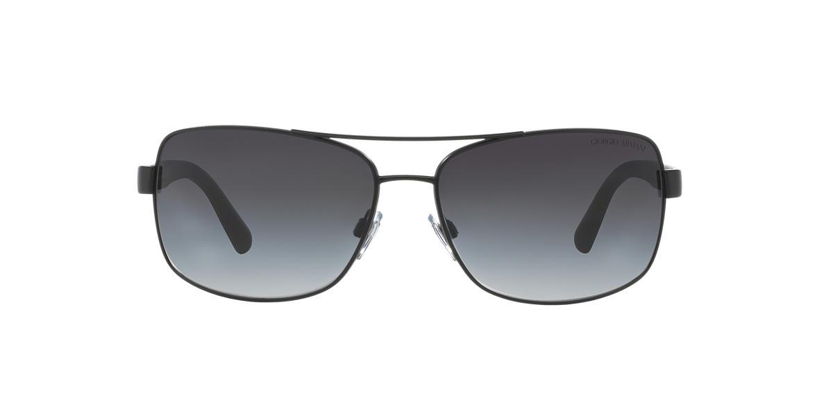 GIORGIO ARMANI Black AR6011 Grey lenses 65mm