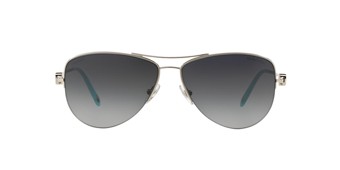 TIFFANY Silver TF3021 Grey polarized lenses 60mm