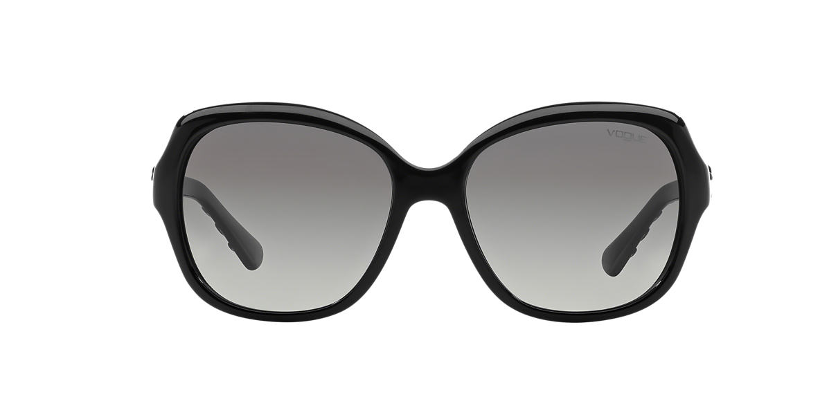 VOGUE Black VO2871S Grey lenses 56mm