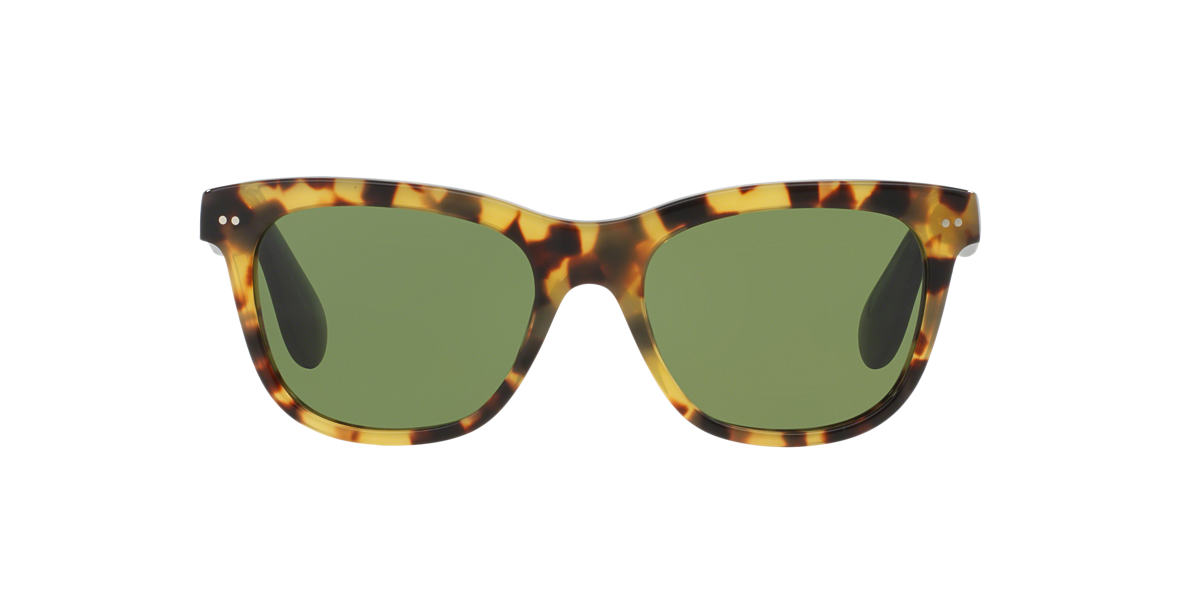 RALPH LAUREN Brown RL8119W 53 Green lenses 53mm