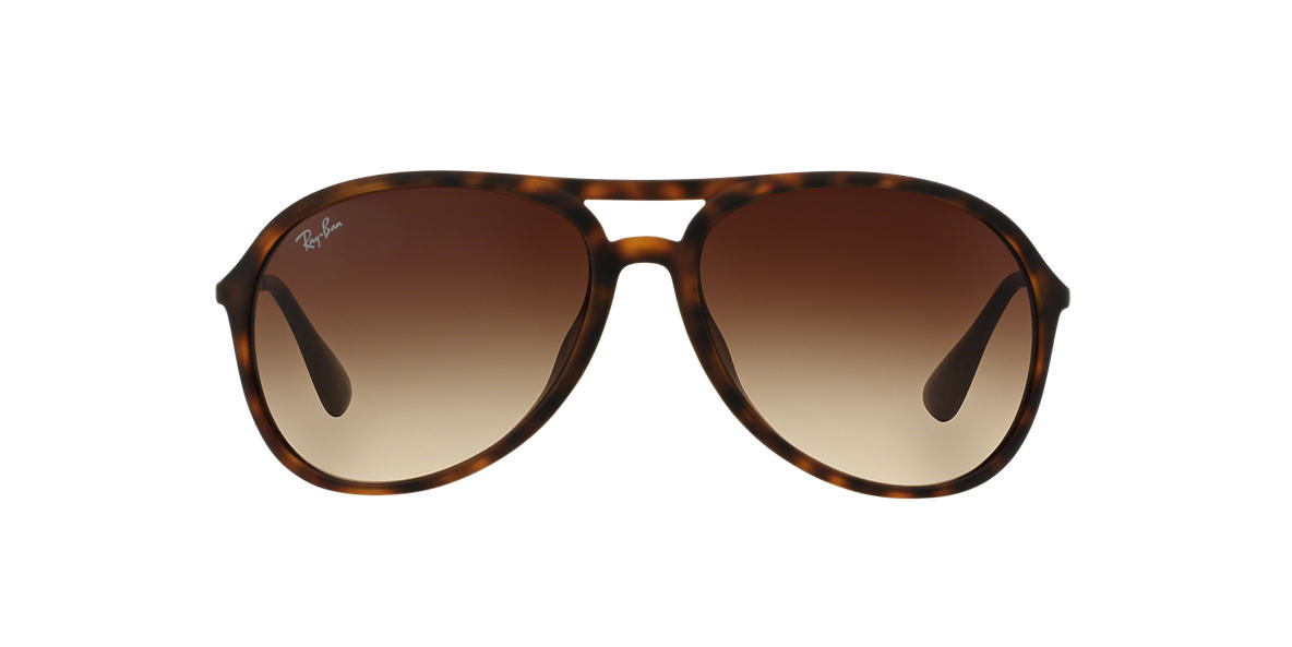 RAY-BAN Tortoise RB4201F Brown lenses 59mm