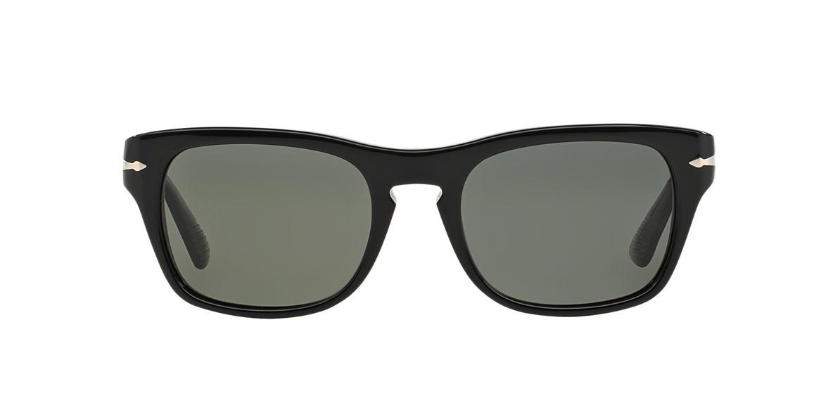 PERSOL Black PO3072S Green polarized lenses 57mm