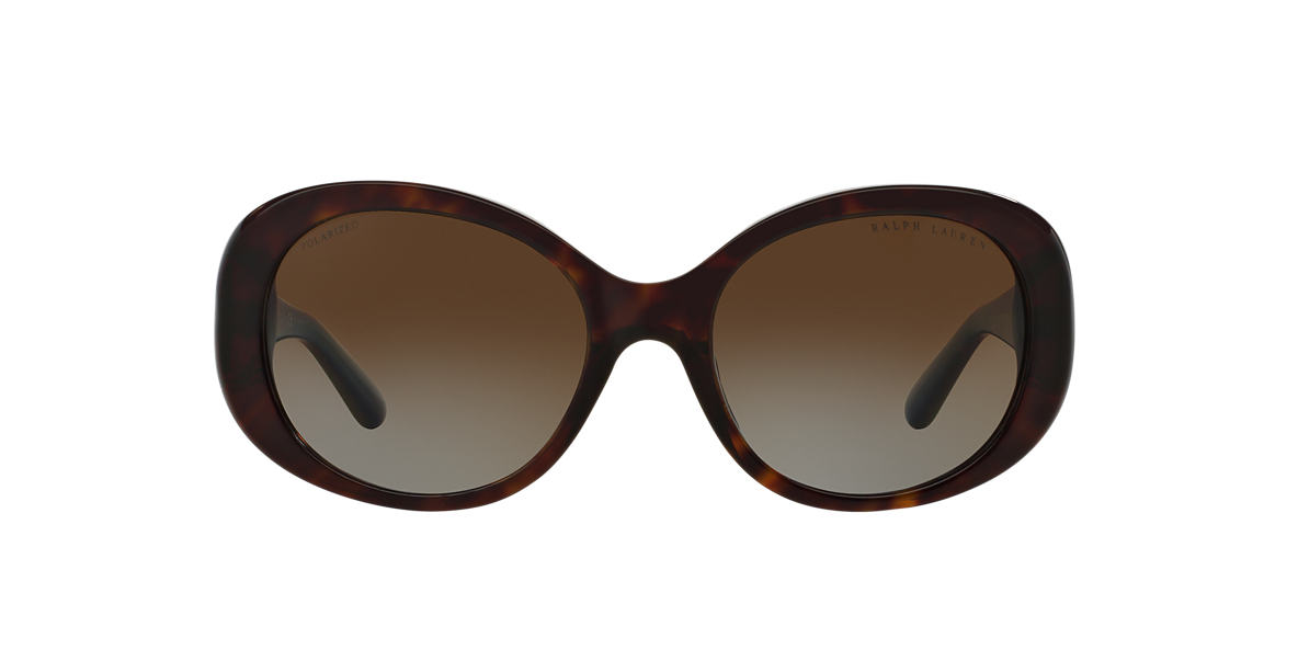 RALPH LAUREN Brown RL8118Q 56 Brown polarised lenses 56mm