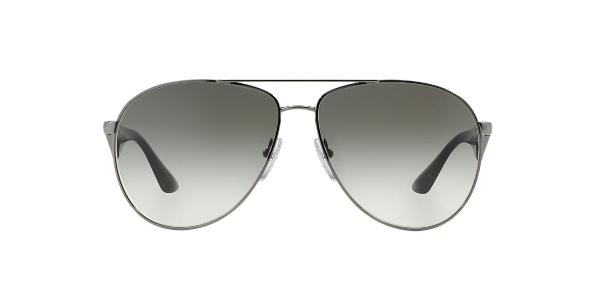 PRADA Silver PR 53QS Grey lenses 60mm