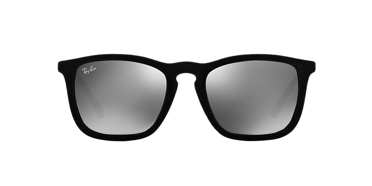 RAY-BAN Black RB4187 54 CHRIS Grey lenses 54mm