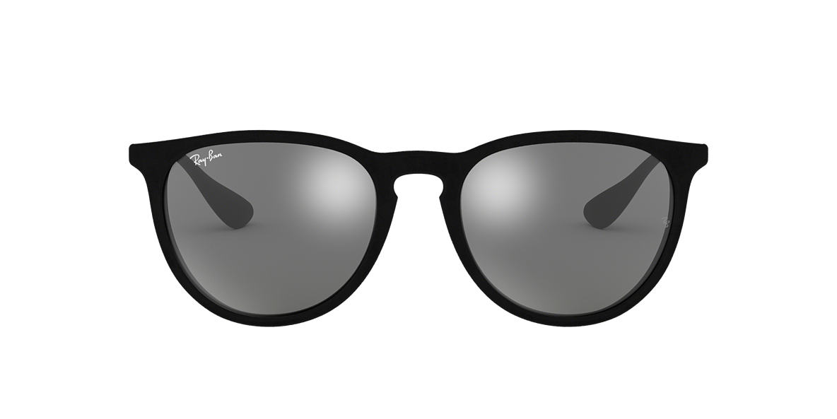 RAY-BAN Black RB4171 54 ERIKA Grey lenses 54mm
