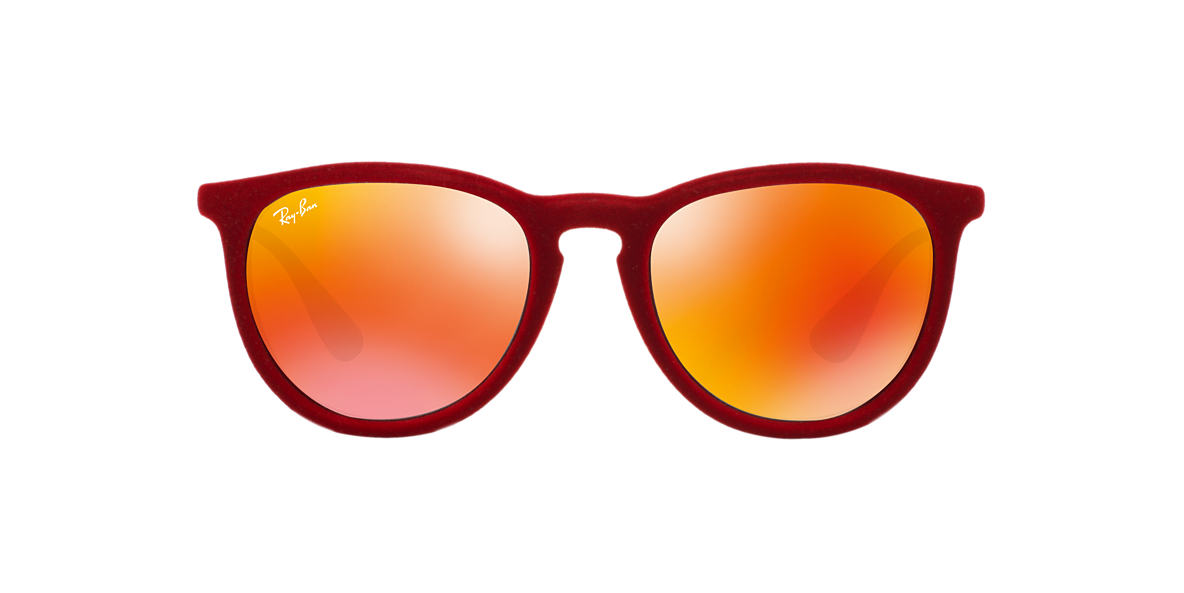 RAY-BAN Red RB4171 54 ERIKA Grey lenses 54mm