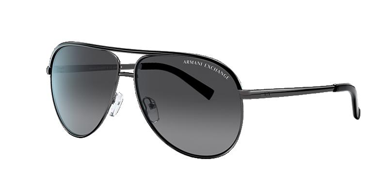 Armani Exchange Ax2002 Multicolor Aviator Sunglasses