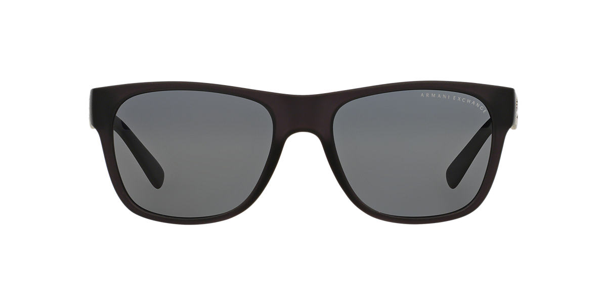 AX Black Matte AX4008 Grey polarized lenses 56mm