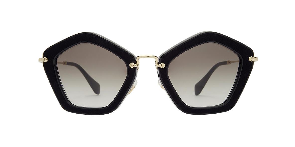 MIU MIU Black MU 06OS Grey lenses 53mm