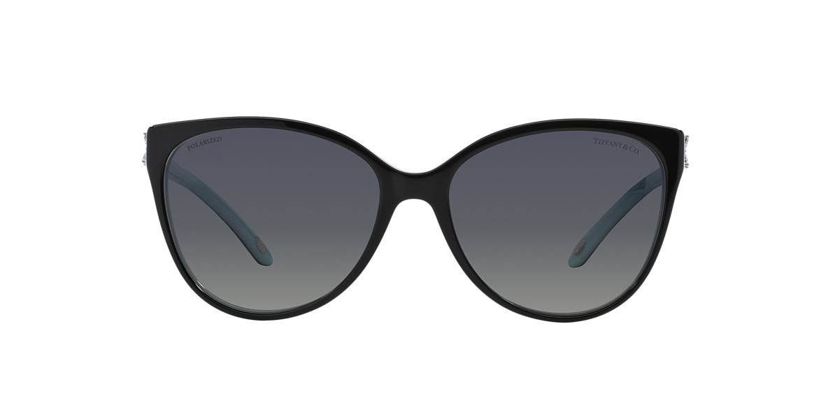 TIFFANY Black TF4089B Grey polarised lenses 58mm