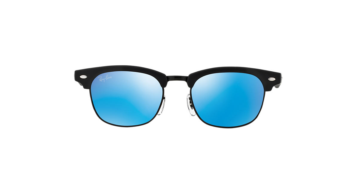 RAY-BAN CHILDRENS Black Matte RJ9050S Blue lenses 45mm