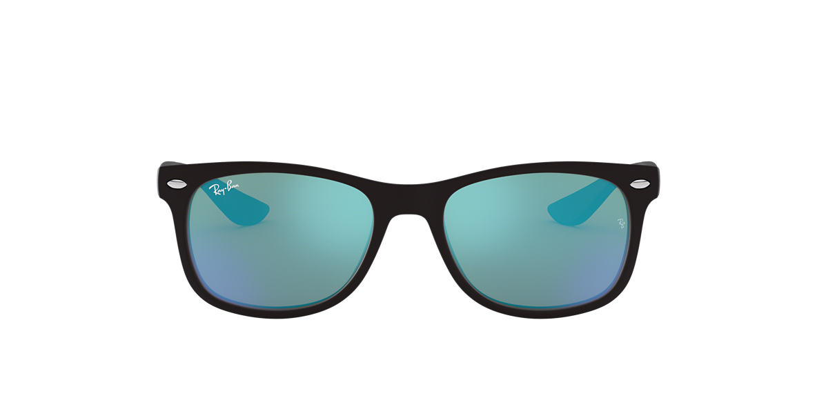 RAY-BAN CHILDRENS Black Matte RJ9052S Blue lenses 47mm