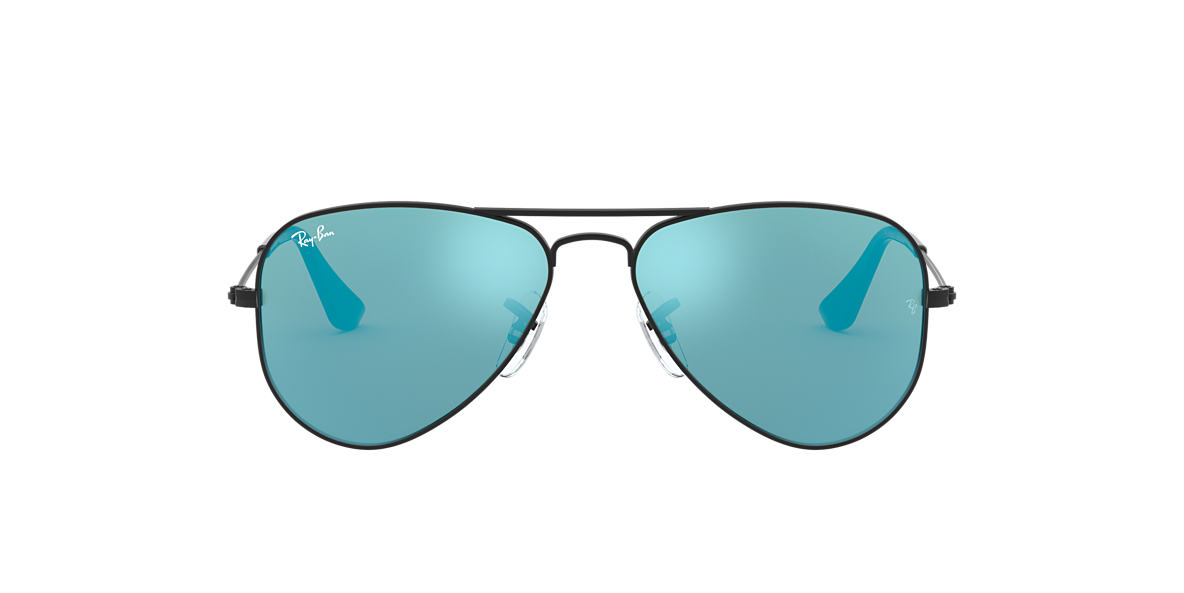 RAY-BAN CHILDRENS Black RJ9506S Blue lenses 50mm