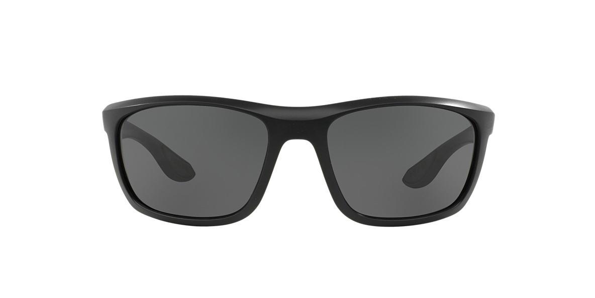 PRADA LINEA ROSSA Black PS 04PS 62 Grey lenses 62mm