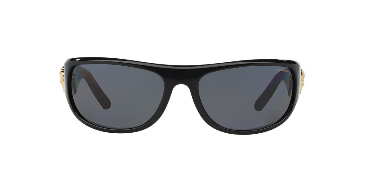 VERSACE Black VE4276 63 Grey polarized lenses 63mm