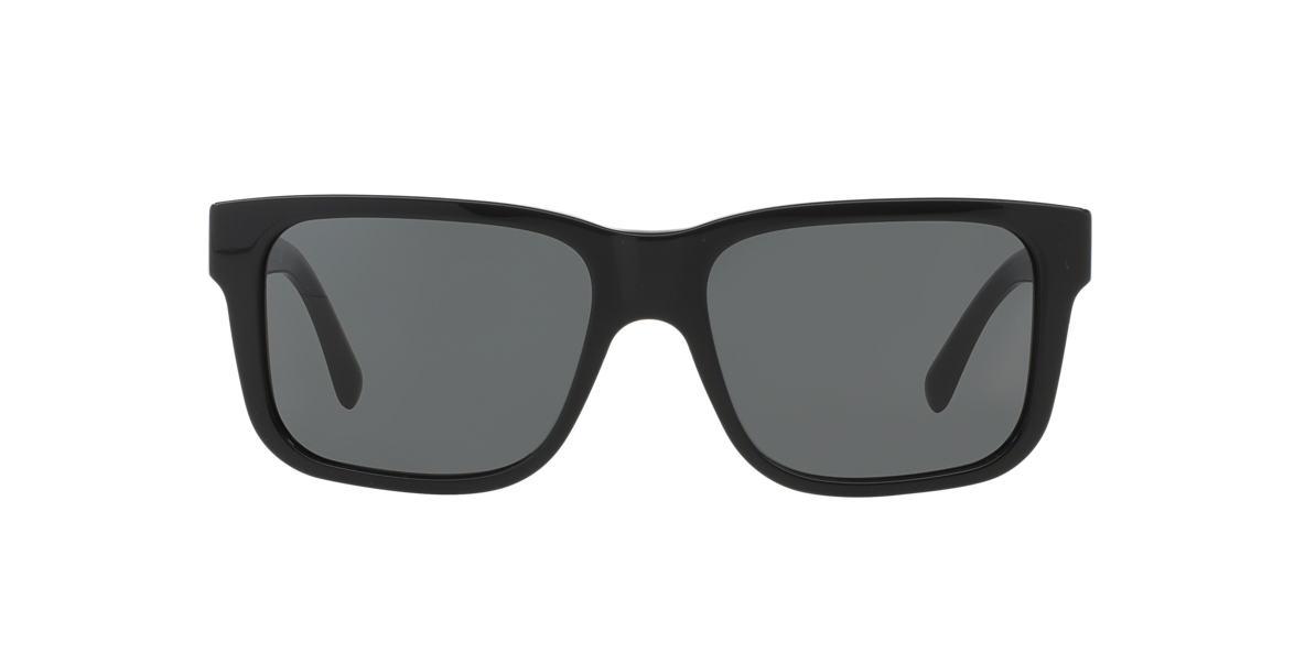 BURBERRY Black BE4170 Grey lenses 57mm
